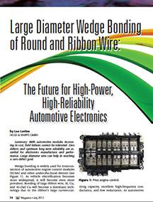 Wedge Bonding Automotive